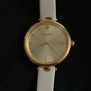 Beautiful White and Gold Kate Spade Watch